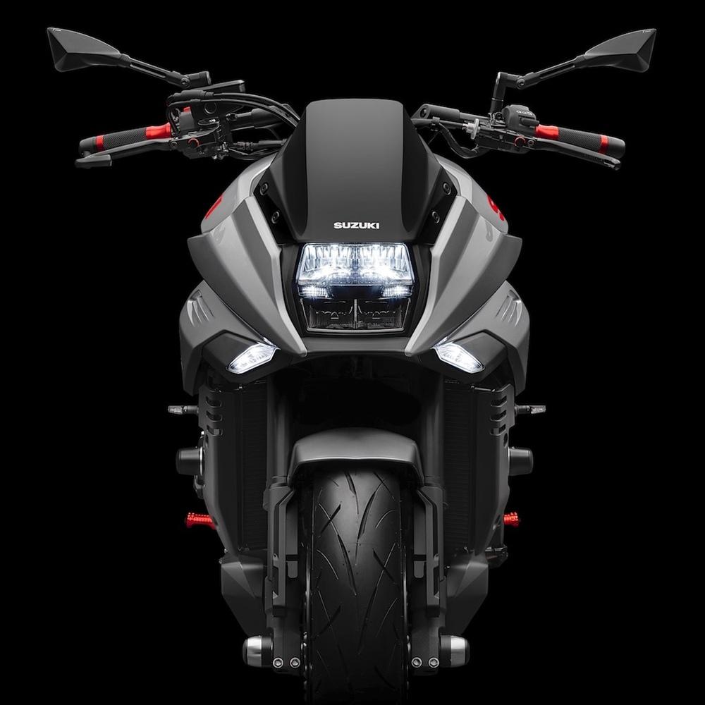 Мотоцикл Suzuki Katana с аксессуарами Rizoma