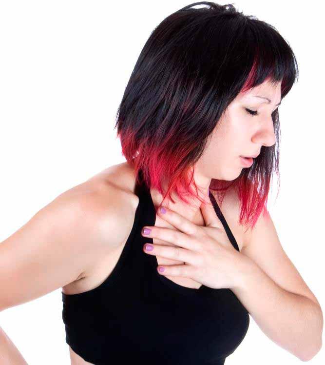 Боли в груди и необъяснимые головные боли могут быть симптомами рака легких.
