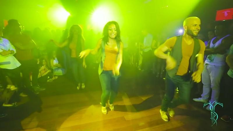 АТАКА ЛА АЛЕМАНА и ее подружка танцуют МАМБУ по русски