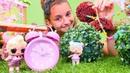 L O L oyuncak bebekler düğün yeri hazırlıyorlar Eğlenceli kız oyunu L O L sürpriz yumurta