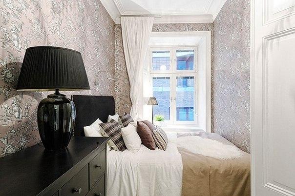 Замечательный интерьер небольшой квартиры, площадь 42 кв.