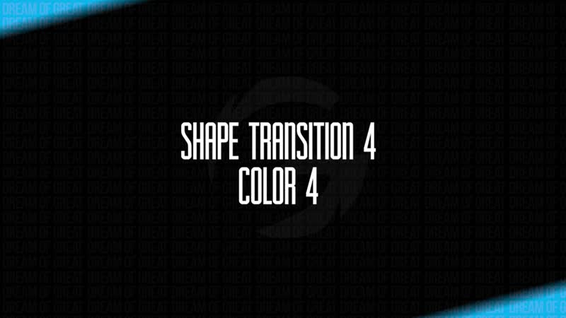 Shape Transition 4 Fast Motion