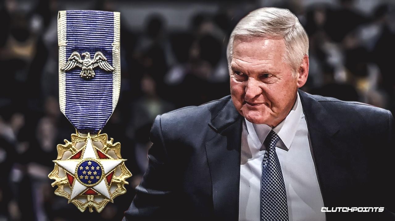 Джерри Уэст будет награжден Президентской медалью Свободы