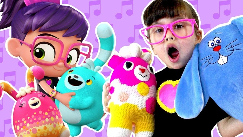 Abby Hatcher fuzzly catcher | Nursery rhymes with Bozzly and Curly | Abby Hatcher full episode