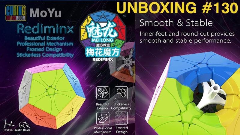 Unboxing №130 MoYu MeiLong Rediminx