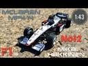 McLAREN MP 4/14 - 1999 1:43 Mika Hakkinen от CENTAURIA Formula1 Auto Collection №12