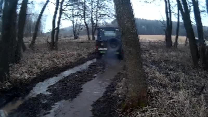 Off-road - 108 Бездорожье в лесопосадках (УАЗ-469, Asia Rocsta)