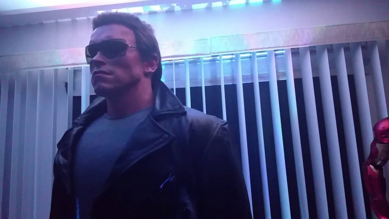 Terminator T1 Ill Be Back Life Size Statue