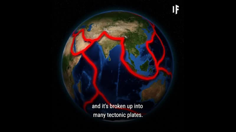 In 2005 a 60km (37 mile) crack opened in Ethiopia and has been expanding eve