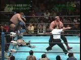 1998.11.14 - Stan HansenVader vs. Mitsuharu MisawaYoshinari Ogawa