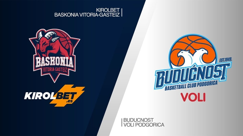 KIROLBET Baskonia Vitoria-Gasteiz - Buducnost VOLI Podgorica Highlights | EuroLeague RS Round 26