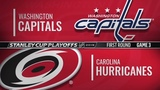 Washington Capitals vs Carolina Hurricanes Apr 15, 2019 Game 3 Stanley Cup 2019 Обзор матча