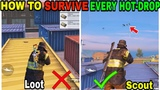 USE THIS TRICK TO SURVIVE EVERY HOT-DROP (16 Kills Asia) PUBG MOBILE GAMEPLAY