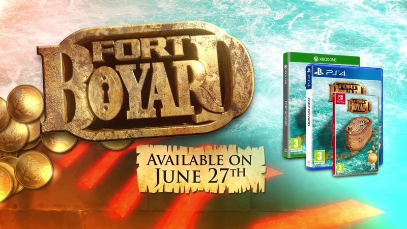 FORT BOYARD - Launch trailer [ENG]