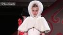 Ulyana Sergeenko Couture Fall Winter 2012 13 ft Jessica Stam Natalia Vodianova Paris FashionTV