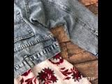 Нереально крутые укороченные джинсовки свободного плана. Спинка - имитация ширинки и джинс! 🔥Размеры: S vM L XL XXLЦена: 2850