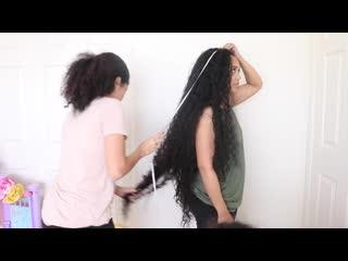 How long is my hair__ _ hair length check