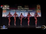 Womens Bikini Fitness Elite Pro TOP-5 - President Santonja Cup.