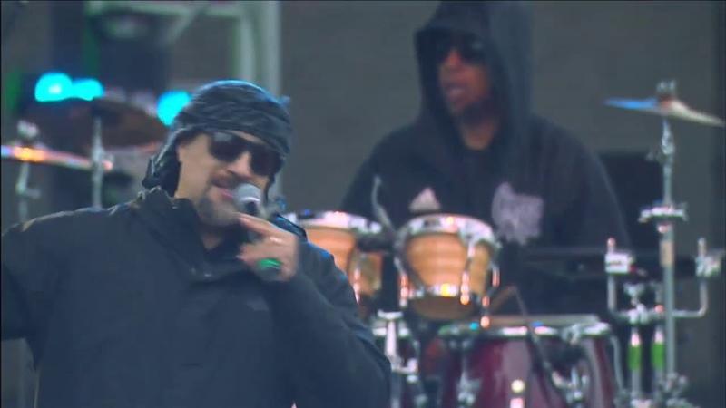 Американская группа Cypress Hill исполнили Insane in the Brain на California Roots Music Arts Festival 2019. (25 мая 2019 г.)