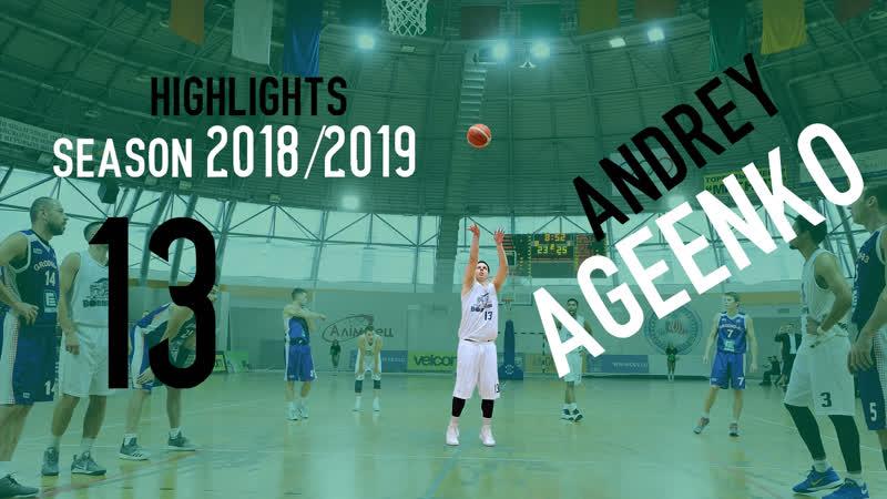 Андрей Cтена Агеенко 13 сезон 20182019