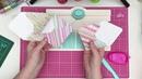 В НАЛИЧИИ Envelope punch board review and quick tutorial DIY!
