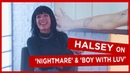 'It's always J Hope ' Halsey on which BTS member makes fun of her the most and new song 'Nightmare'
