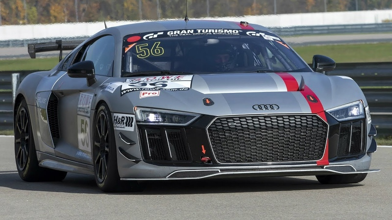 Audi R8 LMS GT4 - on the Race Track