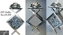 2 DIYs 💎 DIY Glam Candle Holders -Dollar Tree Materials 💎 Mirrored Decor - Christmas gift idea