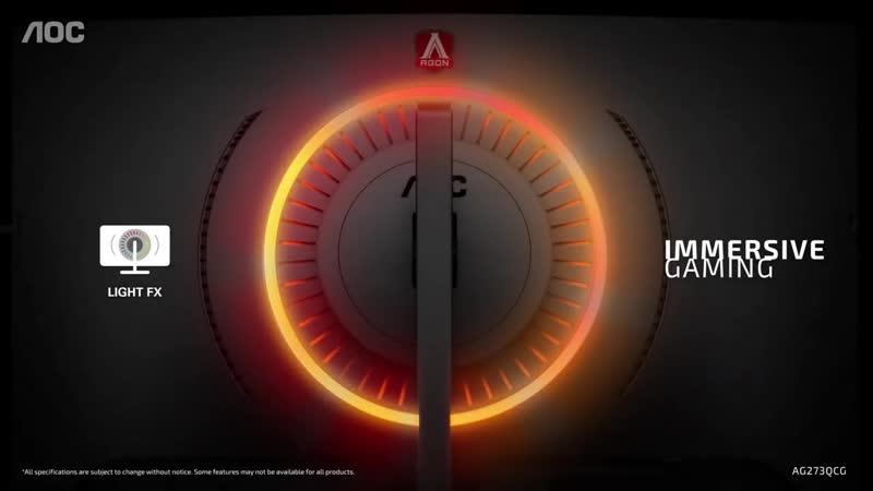 AOC AGON AG273QCG игровой монитор NVIDIA G SYNC