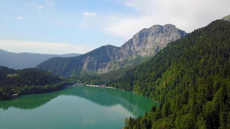 Озеро Рица Абхазия Красота и грация природы
