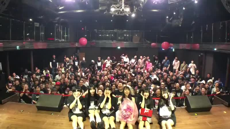 Karaage seitan kouen `CHERRY BOMB at Akihabara P. A. R. M. S. (with fans) (2019.04.14)