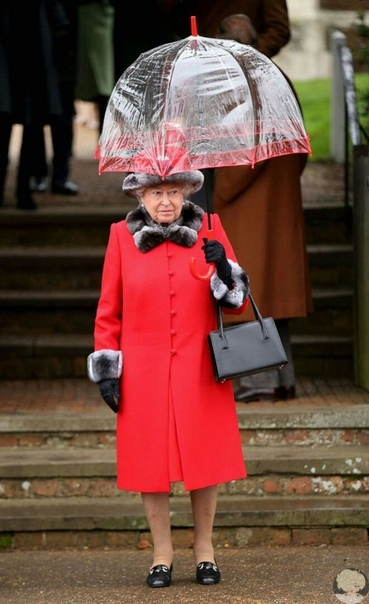 Королева Елизавета ll и ее зонтики