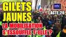 Les gilets jaunes acte 26 Jérôme Rodrigues : La mobilisation ne s'essouffle pas