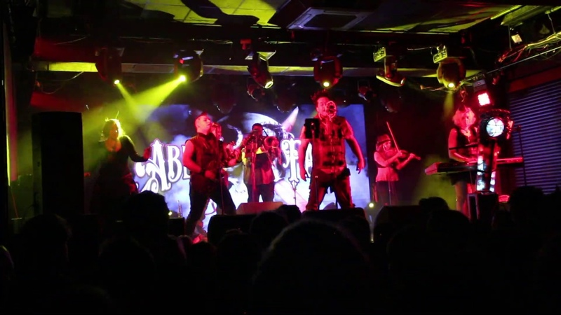 Abney Park Maria Levitan tribal dancer - Strip Polka @ St.Petersburg Zal 5.04.2019