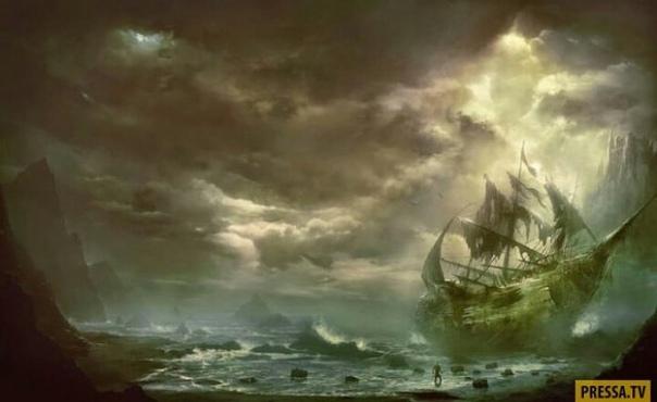 """Печально известный """"корабль-призрак""""  """"Мария Селеста"""" озадачивает ученых уже более века"""