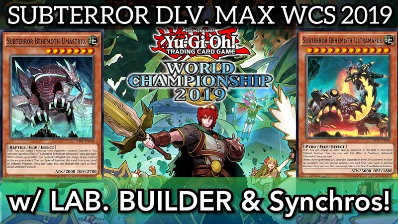 SUBTERROR DLV MAX! NO Masked Tribute Required! [ Yu-Gi-Oh! Duel Links ]