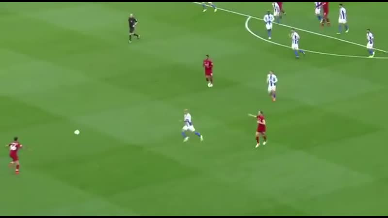 Trent's volleyed pass to Salah against Brighton The definition of perfection