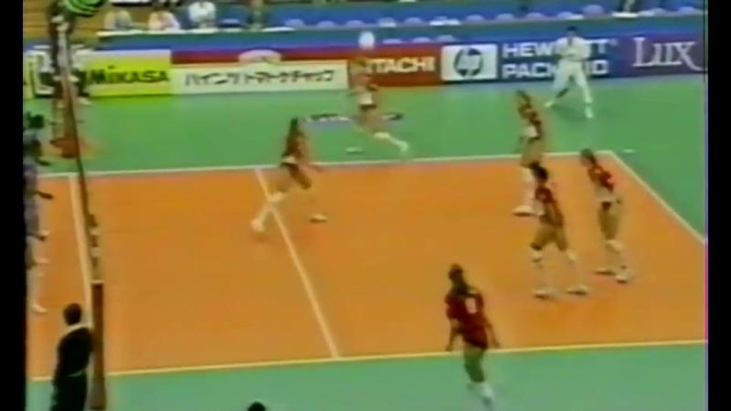 Yevgenya ARTAMONOVA vs. Cuba.. 95 GrandPrix part 1