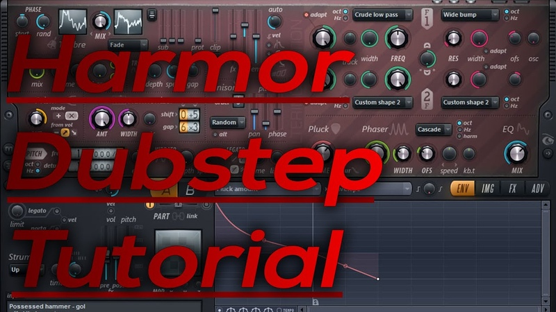 HOW TO MAKE PROFESSIONAL DUBSTEP WITH HARMOR Ive got caps, so you have to click on the Video 3