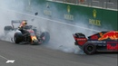 All The Angles Ricciardo and Verstappen Crash 2018 Azerbaijan Grand Prix
