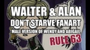 WALTER ALAN    Male version of Wendy And Abigail    Don't Starve fanart    Rule 63