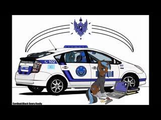 Police lunar republic oc: black genry firefly