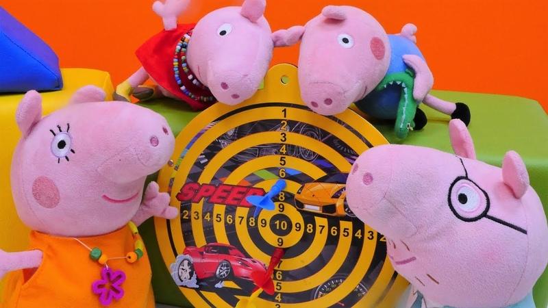 Peppa vai ao Parque de diversões. Peppa Pig Português Brasil. Vídeos de brinquedos.