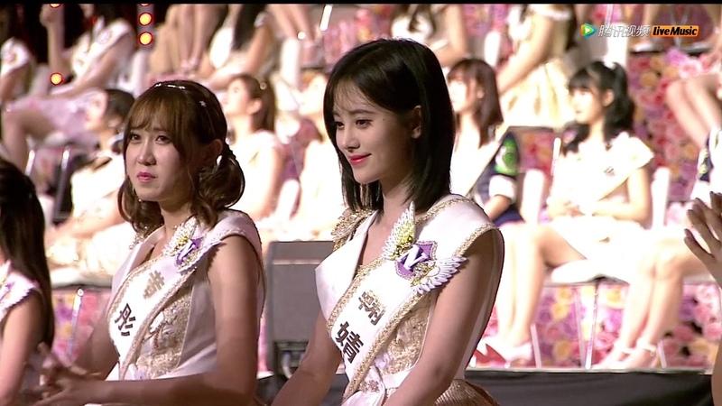 SNH48总决选冠亚军获奖感言PK||你喜欢第二名霸气自信的李艺彤呢还是第一名ో