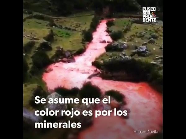 PERU Increíble Río Rojo Escondido en Perú