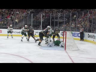 Devan dubnyk robs mark stone with save-of-the-year candidate