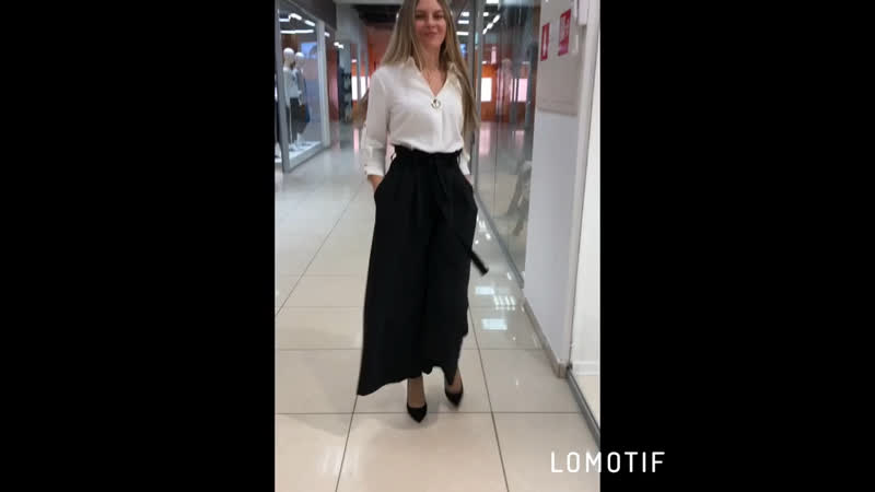 Костюм блузка брюки «палаццо»