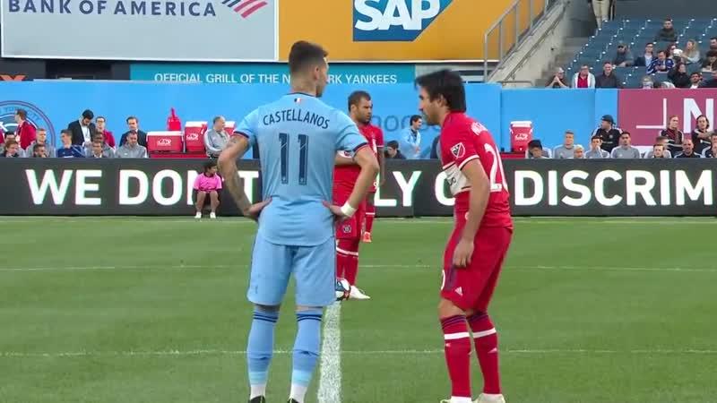 New York City FC vs. Chicago Fire - April 24, 2019 - MLS