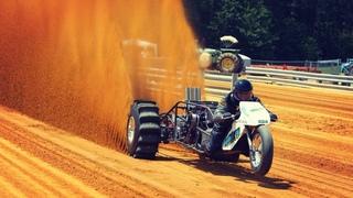 Nitro Trike 100 км/ч за 1 секунду -Top Fuel trike Dirt Drag Racing