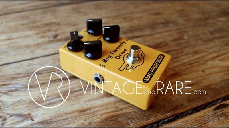 Big Tweedy Drive / Mad Professor / VintageandRare.com / Gear Demo